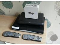 Sky+hd, hd boxes and router