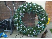 Huge xmas wreath