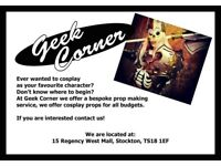 Geek Corner - Prop Maker!