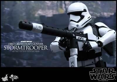 Star Wars TFA - First Order Stormtrooper Heavy Gunner   - Hot Toys MMS318