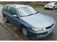 Cheap Peugeot 406 53 plate estate car towbar small van