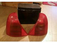 Renault Clio Mark 2 rear light cover set