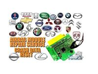Airbag SRS module Crash data repair / reset Any Make and model.