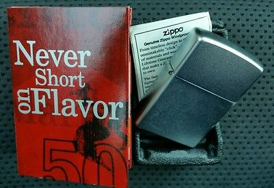 Marlboro 2004 collectible Zippo Matted Steel new