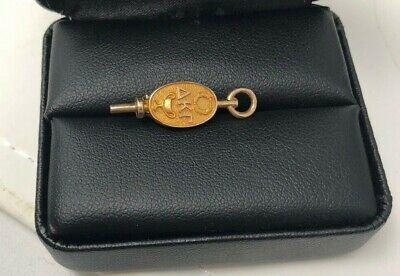 10K Yellow Gold Delta Kappa Gamma Sorority Pin Badge 2.2g