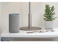 Amazon Echo 2nd Gen Heather Grey Brand New Sealed