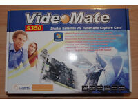 Compro VideoMate S350 Satellite TV Tuner PC Card