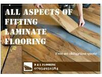 Laminated flooring fitters