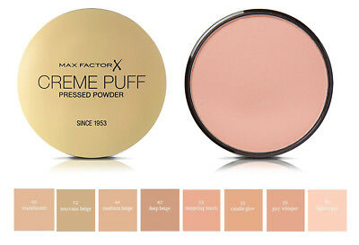 - Max Factor Creme Puff Refill Compact Powder ~ Choose Your Option