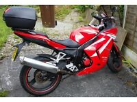 Cheap 125 14 plate only 4200 miles 125cc are looking for a bike this is the one