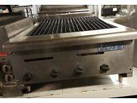 Elite Commercial 4 Burner Peri Peri Natural Gas Char Grill Table Top For Kebab Takeaway Cafe Diner