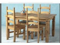 Corona dining table