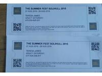 2 tickets for UB40 and more