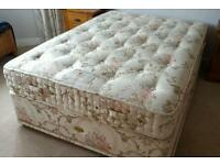 "4'6"" double divan bed excellent condition."
