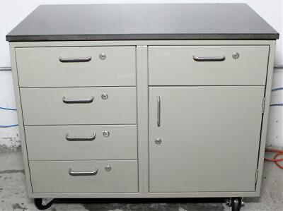 Industrial Rolling Mobile Workbench Drawer Cabinet