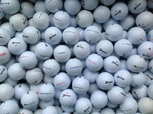 100 Srixon Mix Golfbälle *AAAA-AAA* (Top-Qualität) gebrauchte Lakeballs