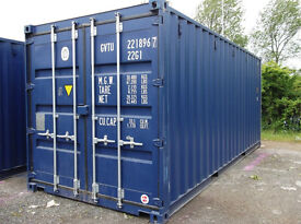 WANTED - I will buy 20ft shipping container