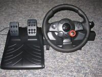 Logitech Driving Force Steering Wheel for PS3/PC