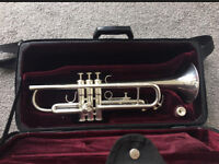 BESSON 1000 TRUMPET SILVER PLATED