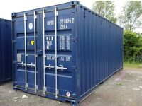 20ft blue shipping container excellent condition