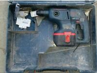 Bosch sds plus cordless hammer drill with box