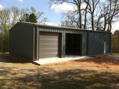 Steel Building 30x50 Simpson Metal Building Kit Garage Barn Structure Prefab