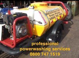 professional deep clean power wash pressure washing services driveways patios paving decking jet ing