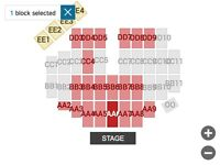 Amazing Front & Centre (Block AA6) Elton John Tickets in Derby (June 4th 2017)