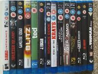 Blueray dvds
