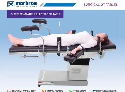 C-arm Compatible Fully Electric Ot Table Operation Theater Table Tmi 1201 Adv.