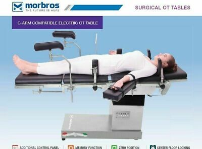 C-arm Compatible Fully Electric Ot Table Operation Theater Table