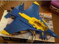Mega bloks Blue Thunder