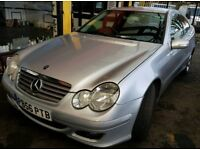 Mercedes 2.2 diesel AUTOMATIC c220 coupe icars