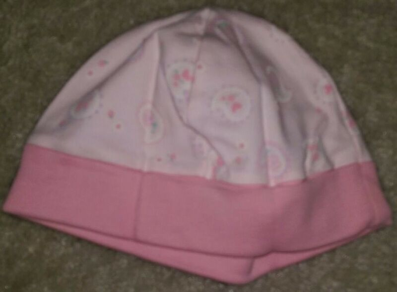 Girls NWOT Multi Color Paisley Hat Size 0 to 3 Month