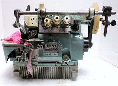 Juki Mou-816 Serger Ruffler Shirring Attachment Industrial Sewing Machine Head