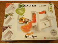 Salter spiralizer for veg white