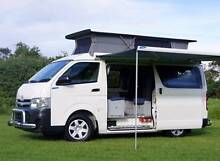 Near New 2013 Toyota Hiace Automatic Frontline Campervan Low Km! Albion Park Rail Shellharbour Area Preview