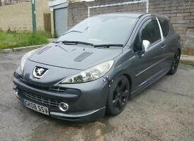 Peugeot 207 GTi *200bhp+*hybrid turbo*huge part list*