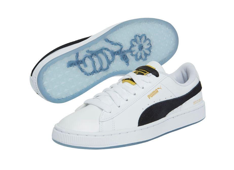 BANGTAN BOYS PUMA X BTS Basket Patent Shoes 245 + PHOTO CARD NEW