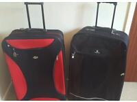 Pair of suitcases