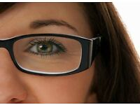 Spectacle frames brand new with your required single vision lenses fitted into it