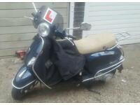 Lx vespa 125 good mileage