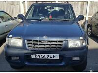 Vauxhall frontera 22 lTDI