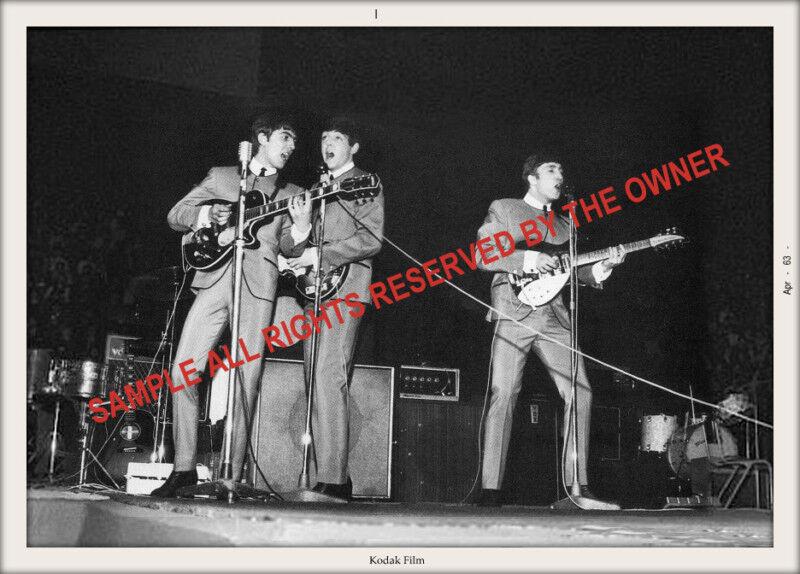 BEATLES 1962-3 snapshot set of 3 fantastic collection