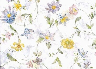 "Wildflower Tissue Paper #331 / Gift Wrap -- 10 Large sheets - 20"" x 30"""