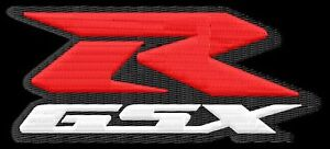 Suzuki RGSX S 750 R GSX 750RGSX embroidered iron-on patch - Poznan, Polska - Suzuki RGSX S 750 R GSX 750RGSX embroidered iron-on patch - Poznan, Polska