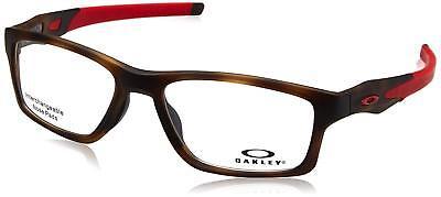 Authentic OAKLEY Crosslink  OX8090 - 0855 Eyeglasses Brown Tortoise *NEW* 55mm