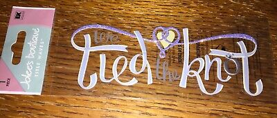 Jolees We Tied The Knot Title Scrapbook Stickers Wedding Married Ceremony Love - Tying The Knot Ceremony