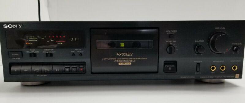 SONY TC-RX606ES Cassette Deck