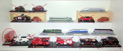 8 modellini misti auto treni vespa - NUOVI - mai giocati